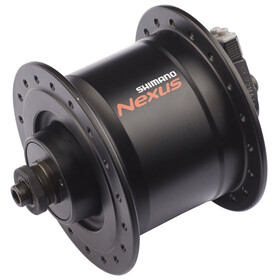Shimano Nexus DH-C3000-3N naaf 3 Watt voor velgrem/snelspanner zwart